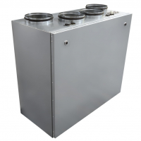 Компактные приточно-вытяжные установки с пластинчатым рекуператором (вертикальное исполнение) ZPVP V