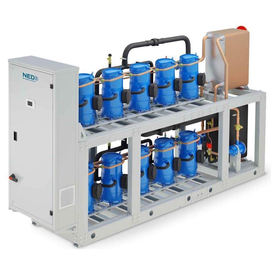 Чиллеры с водяным охлаждением конденсатора серии GBH